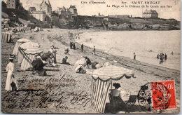 35 SAINT ENOGAT - La Plage Et Le Château De La Goule Aux Fées - France