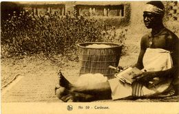CPA Ethnique Afrique Occidentale Cardeuse - Burkina Faso