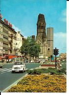 BERLIN Mémorial Rue Animée  Commerces Voitures Anciennes  Vw Coccinelle Mercédes 404 - Autres