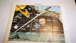 "Bloc ""history Of The Space Achievement"" +espace+ Antigua Barbuda - Space"