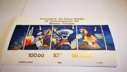 """Bloc """"satellite"""" Mexico  1985+ Espace - Space"""