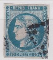 FRANCE YT N° 46A - 1870 Emission De Bordeaux
