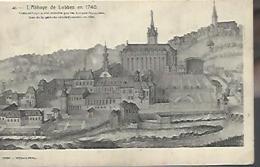 LOBBES = L'abbaye En 1740 - Lobbes