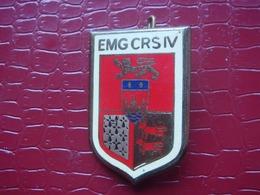 EMG CRS IV . Bordeaux - Compagnie Républicaine De Sécurité ( état Major ) - Police & Gendarmerie