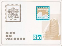 BRASILIANA. RIO. CITTA DEL VATICANO.-TBE-BLEUP - Brasilia