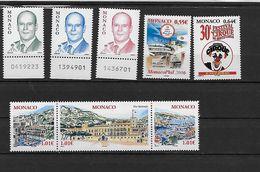 MONACO 2515 à 2521 Neufs** - Neufs
