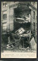 CPA - GUERRE DE 1914 - ANVERS - Façade D'une Maison Bombardée Rue Des 3 Rois - Guerre 1914-18