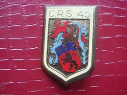 CRS 45 . Lyon  - Compagnie Républicaine De Sécurité - Policia