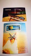 "Bloc ""com^te De Halley"" + Espace - Space"