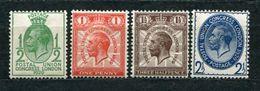 Great Britain Nr.170/73       *  Unused      (1017) - 1902-1951 (Könige)