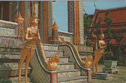 Temple Of Emerald Budha. Used Malaya - Singapore. Metercancel.   S-4228 - Thailand