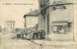 Becon Les Bruyeres  L'école De La Rue Du Cayla - France