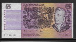 Australie -  5 Dollars - Pick N° 44e - TTB - Unclassified