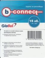 BULGARIA - B-connect By Globul Prepaid Card 15 Leva, Sample - Bulgaria