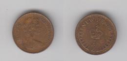 1/2 PENNY 1971 - 1971-… : Monnaies Décimales