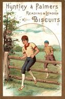 CHROMO BISCUIT HUNTLEY ET PALMERS SPORT - Confiserie & Biscuits