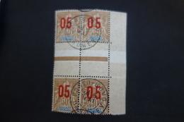 N°38+38a En Bloc De 4. Oblitération Centrale - Dahomey (1899-1944)