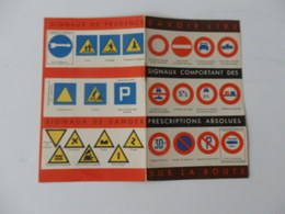 Fascicule Sur La Sécurité Routière Et Tableau D'immatriculation Des Autos L. Ferré Assurances à Chatellerault (86). - Publicidad