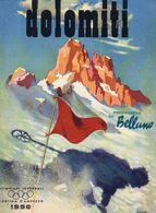 CORTINA D'AMPEZZO 1956 - Sport Invernali