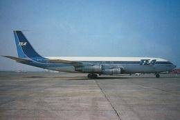 Avion / Airplane / TEA / Boeing B 707 / Registered As OO-TYC / Airline Issue - 1946-....: Era Moderna