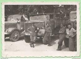 Zevio Verona Camions E Fanti Italiani Rientrati Dal Fronte Greco 1940 - Guerre, Militaire