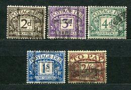 Great Britain Porto Ex. Nr.12/7       O  Used      (1073) - Tasse
