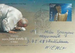 Papal Visit To Katowice Poland 1999. Used Stationery.  # 07389 - Popes