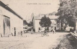 SAINT NIZIER - ISERE -CPA -CHEZ LA MERE REVOLLET - France