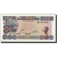 Billet, Guinea, 100 Francs, 1960, 1960-03-01, KM:35a, NEUF - Guinée