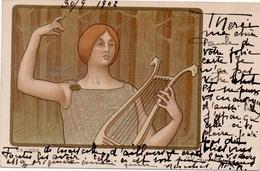Carte Postale Signée De L' Illustrateur Paul BERTHON - Berthon