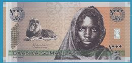 SOMALILAND  1000 Shillings  2006Serial# AA14405 P# CS1 Lion, Girl - Somalia