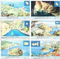 FIGURINE LIEBIG - SERIE CPL - Le Belle Isole Italiane - 1964 - Sanguinetti 1799 - Liebig