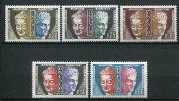 6387   FRANCE Service  N° 22/6**   UNESCO  Tête De Bouddha  Et Hermès   1960   TTB - Neufs