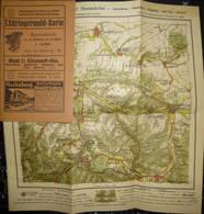 Deutschland - Thüringerwald-Karte 1921 - Blatt 2: Eisenach-Ost - 27cm X 30cm 1:50'000 - 32 Seiten Erklärungen - Topographical Maps