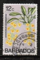 BARBADOS  Scott # 403 USED CREASED - Barbados (1966-...)