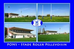 Pons (17 - France) Stade Roger Pellevoisin - Stades