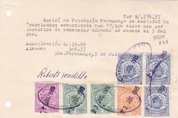 RECIBO PERU REPUBLICA PERUANA PANADERIA PARAMONGA AÑO 1965 TIMBRE FISCAL STAMP DUTY-TBE-BLEUP - Peru