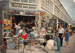 75020-PARIS- LE MARCHE AUX PUCES - Arrondissement: 20