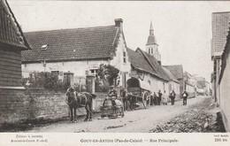 62 - GOUY-EN-ARTOIS (Pas-de-Calais) - Rue Principale. - Animée. - Autres Communes