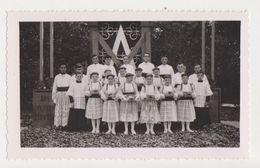 26457  Photo Enfant Chœur -Choir Boy - Religion Catholique Dentelle  Surplis Aube MA - - Personnes Anonymes