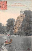 ¤¤  -  TOUT PARIS  -  Buttes Chaumont  -  Bateau Passeur Et Belvédère     -  ¤¤ - District 19