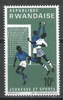 Rwanda 1966. Scott #164 (MNH) Soccer * - Rwanda