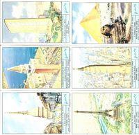 FIGURINE LIEBIG - SERIE CPL - Le Costruzioni Più Alte Del Mondo - 1964 - Sanguinetti 1800 - Liebig