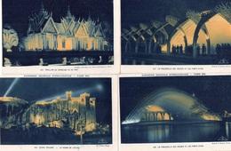"""LOT DE 10 CARTES   """"EXPOSITION COLONIALE INTERNATIONALE  PARIS 1931"""" - Cartes Postales"""