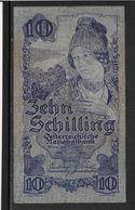 Autriche -  10 Schilling - Pick N° 99 - TTB - Austria