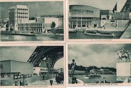"""LOT DE 18 CARTES   """"EXPOSITION INTERNATIONALE PARIS 1937 - Cartes Postales"""