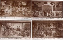 "LOT DE 6 CARTES   ""EXPOSITION DES ARTS DECORATIFS  Fresque De Henri RAPIN - Cartes Postales"