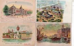"""LOT DE 6 CARTES   """"EXPOSITION UNIVERSELLE 1900 - Cartes Postales"""