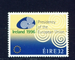 IRELAND  -  1996  EU Presidency  32c  Unmounted/Never Hinged Mint - 1949-... Republic Of Ireland