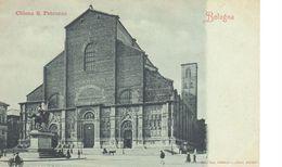 Bologna - CARTOLINA BOLOGNA - Chiesa S. Petronio - Bologna